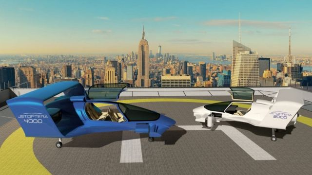 Jetoptera VTOL aircraft (4)