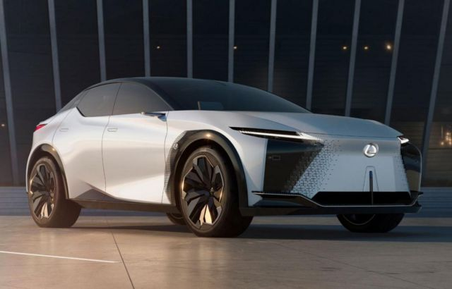 Lexus' LF-Z Electrified concept
