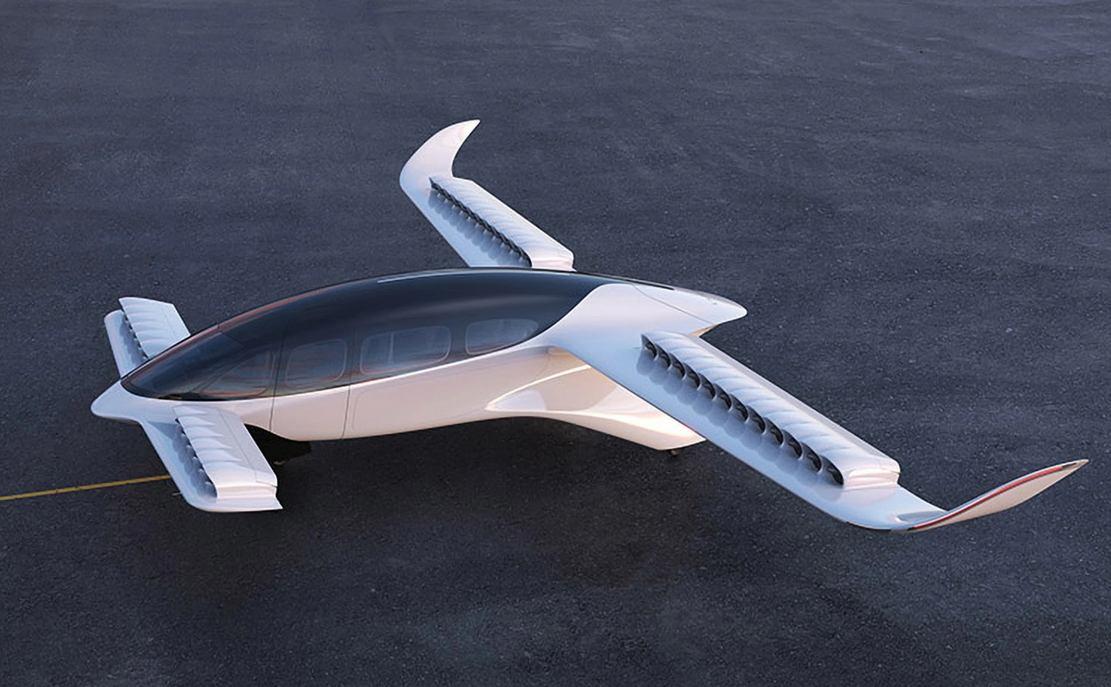 Lilium 7-seat eVTOL Jet (12)