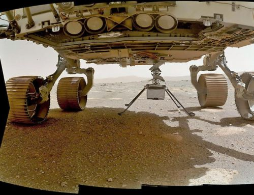 Mars Ingenuity Helicopter on sol 39