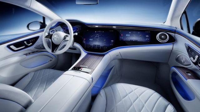 Mercedes-Benz EQS Electric Sedan (9)