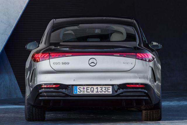 Mercedes-Benz EQS Electric Sedan (6)