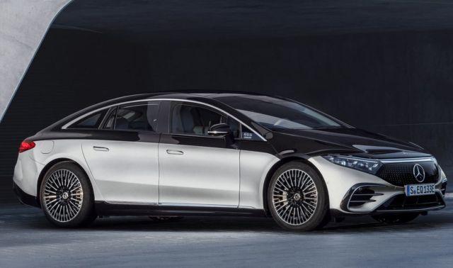 Mercedes-Benz EQS Electric Sedan (5)