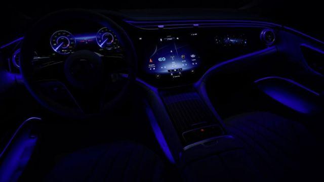 Mercedes-Benz EQS Electric Sedan (3)