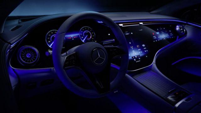 Mercedes-Benz EQS Electric Sedan (2)