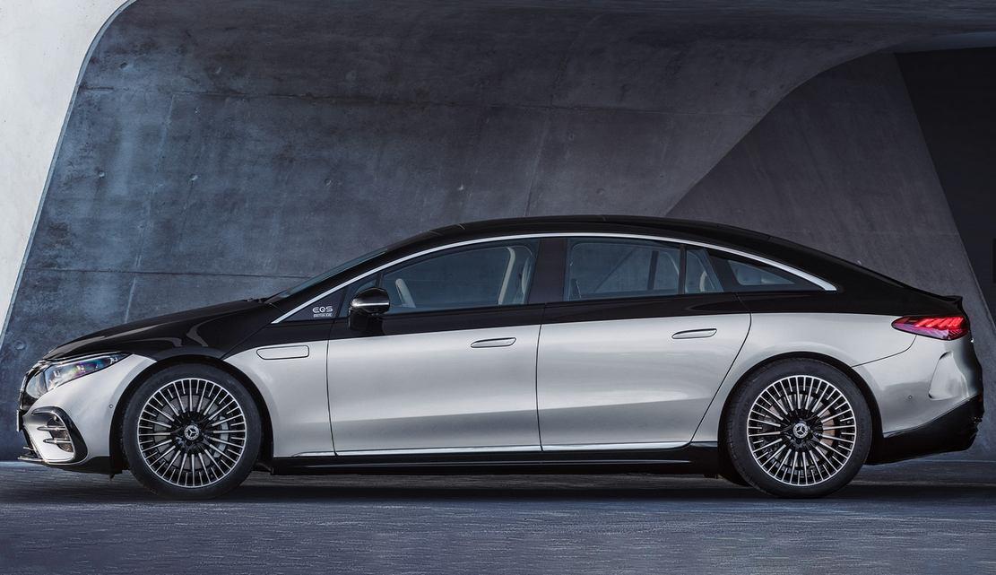 Mercedes-Benz EQS Electric Sedan (1)