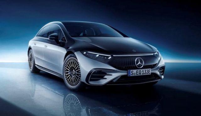 Mercedes-Benz EQS Electric Sedan (17)