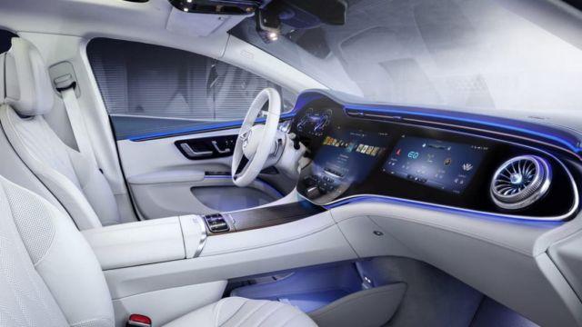 Mercedes-Benz EQS Electric Sedan (12)