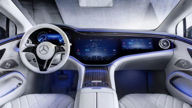 Mercedes-Benz EQS Electric Sedan (11)
