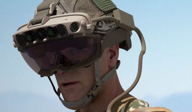 Microsoft to build AR headsets for the US Army