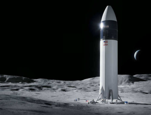 NASA has chosen SpaceX to return to the Moon