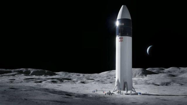 NASA has chosen SpaceX to return to the Moon