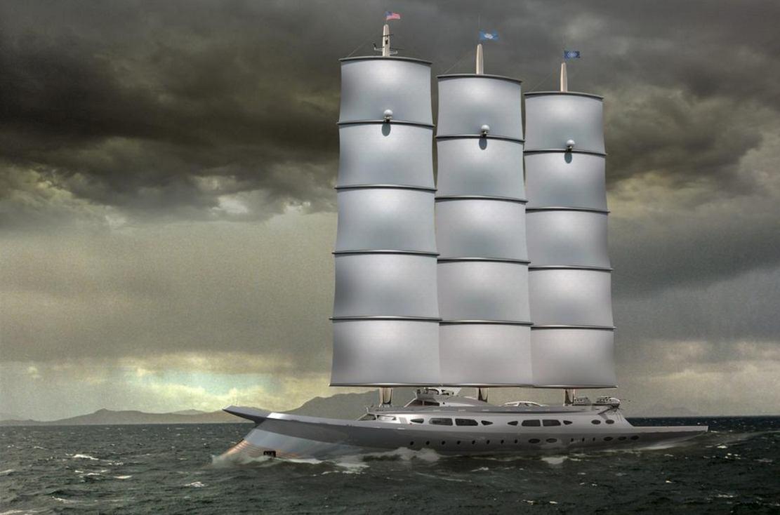 Narvalo 134 meter Polar Class sailing yacht (7)