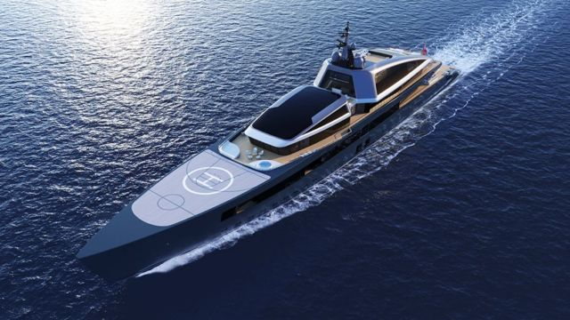 'Now' 360-Foot Superyacht concept