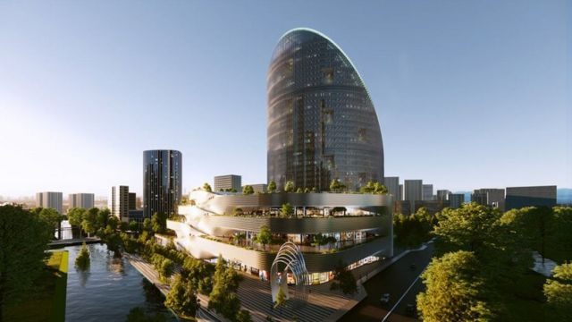 OPPO Tower in Hangzhou (2)