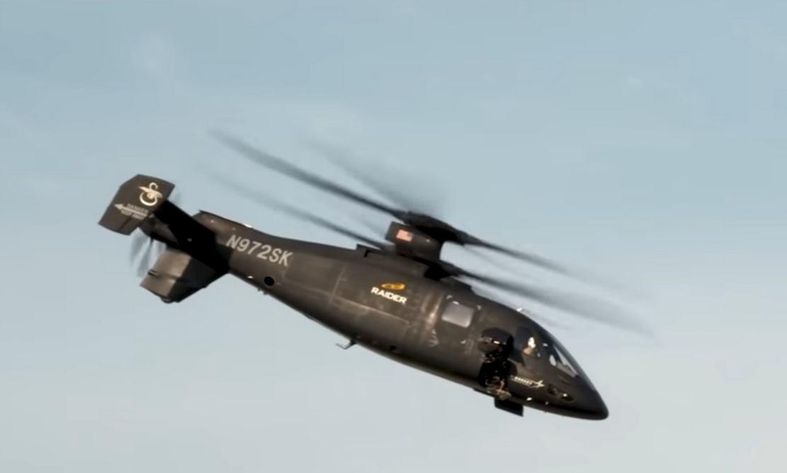 Sikorsky S-97 Raider Flies at Redstone