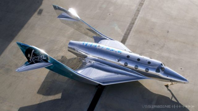 Virgin Galactic's VSS Imagine shiny new Spaceship (2)