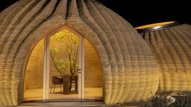 World's first 3D Printed House in Raw Earth (6)