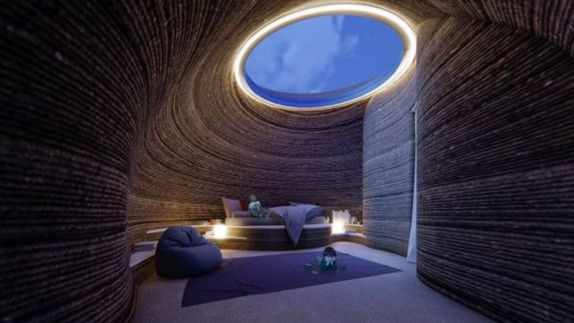 World's first 3D Printed House in Raw Earth (5)