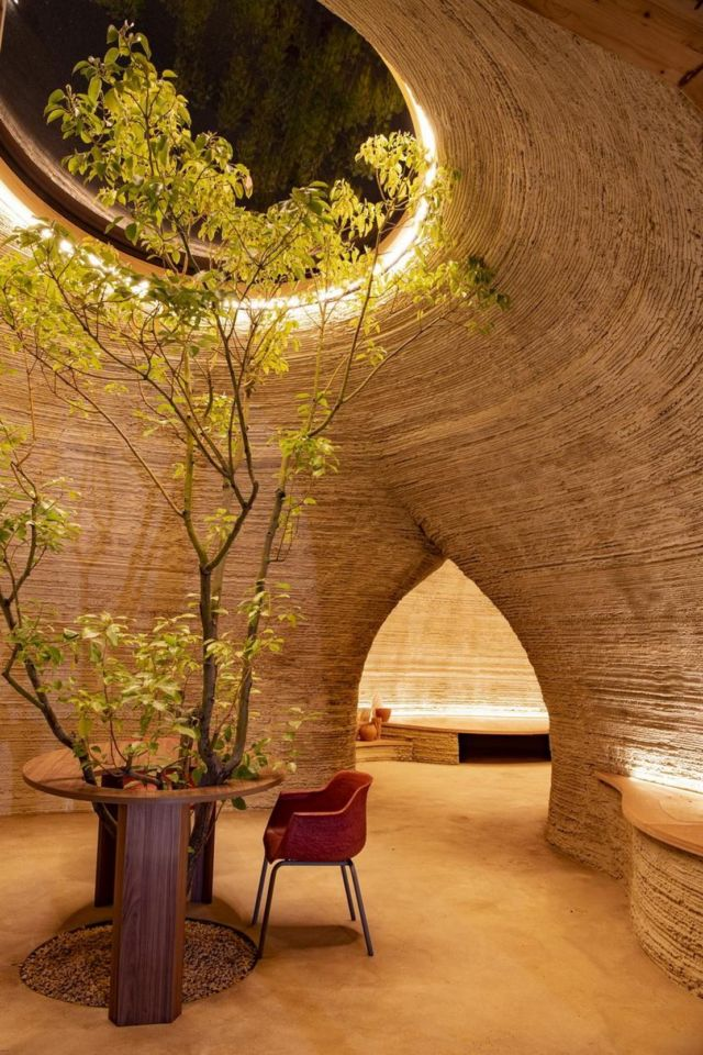 World's first 3D Printed House in Raw Earth (4)