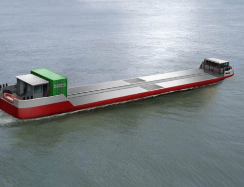 World's first Hydrogen-Powered Cargo Vessel