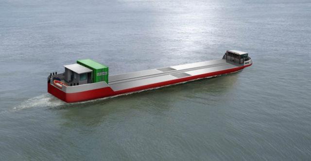 World's first Hydrogen-Powered Cargo Vessel