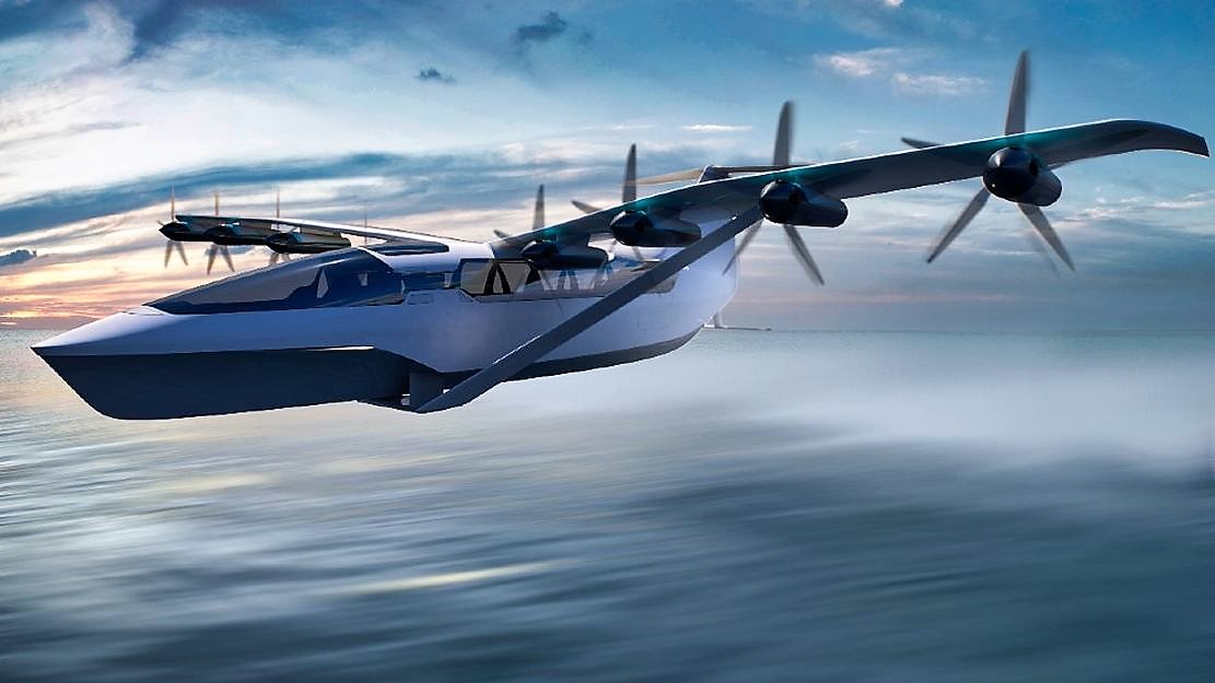 All-Electric Seaglider Flying Hovercraft (6)