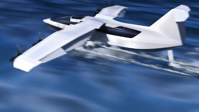 All-Electric Seaglider Flying Hovercraft (5)