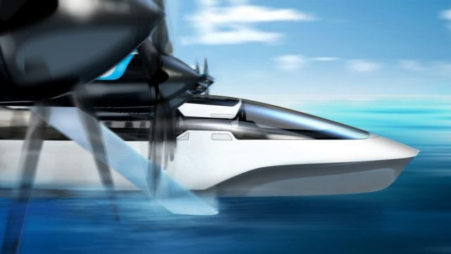 All-Electric Seaglider Flying Hovercraft (1)