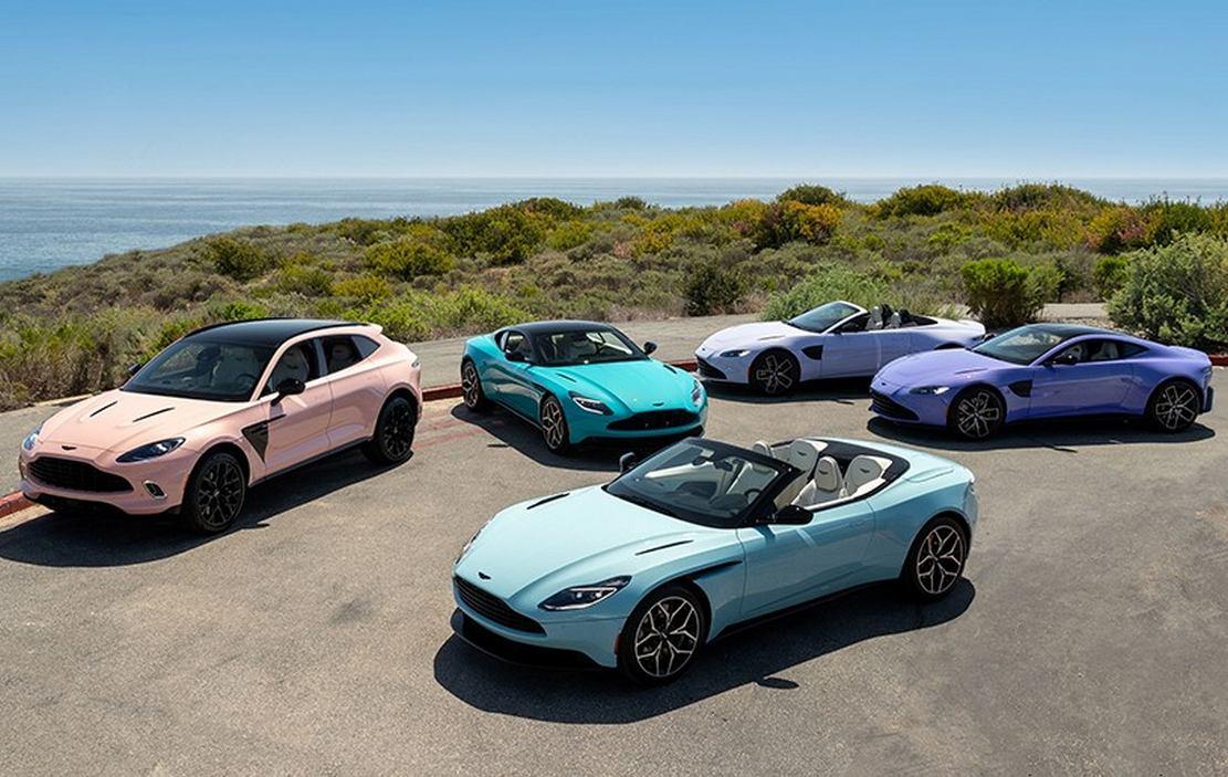 Aston Martin Pastel Collection (3)