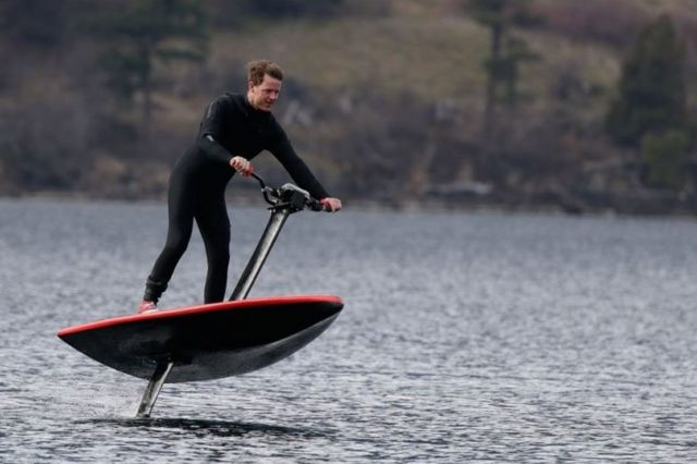 HydroFlyer - world's most advanced eFoil