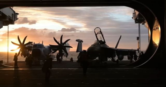 Inside the world's largest Aircraft Carrier (5)