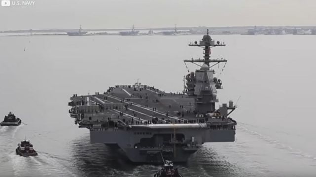 Inside the world's largest Aircraft Carrier (4)