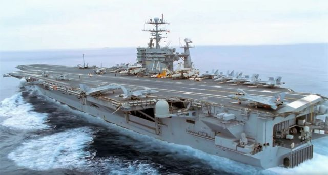 Inside the world's largest Aircraft Carrier (1)