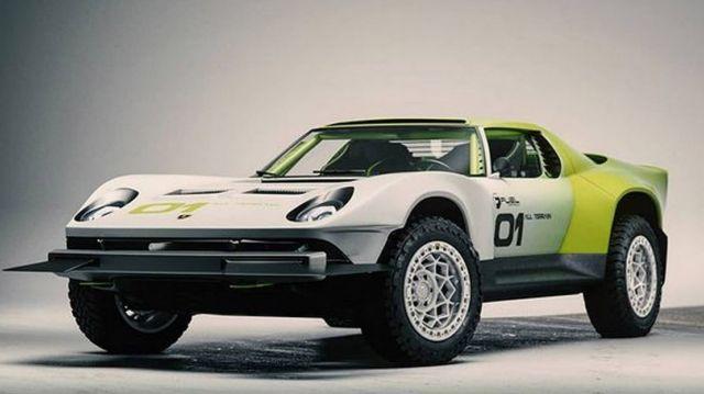 Lamborghini Miura All-Terrain concept