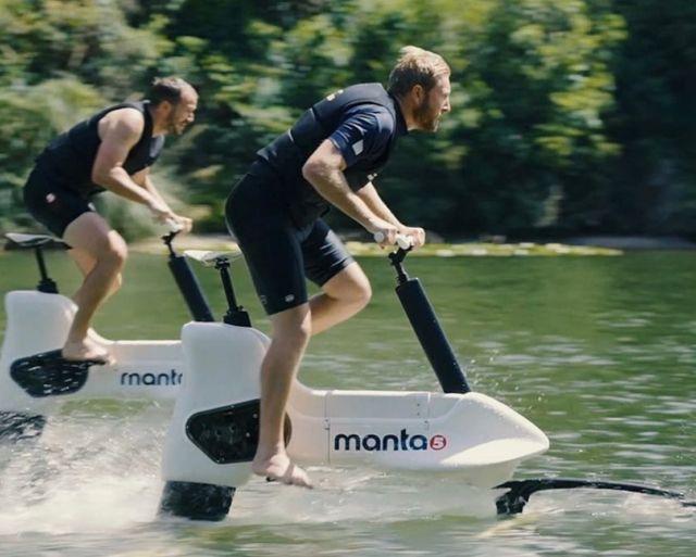 Manta5 Hydrofoil ebike