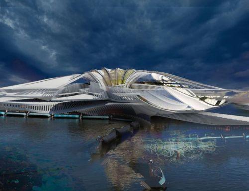 Recycled Ocean Plastic Resort