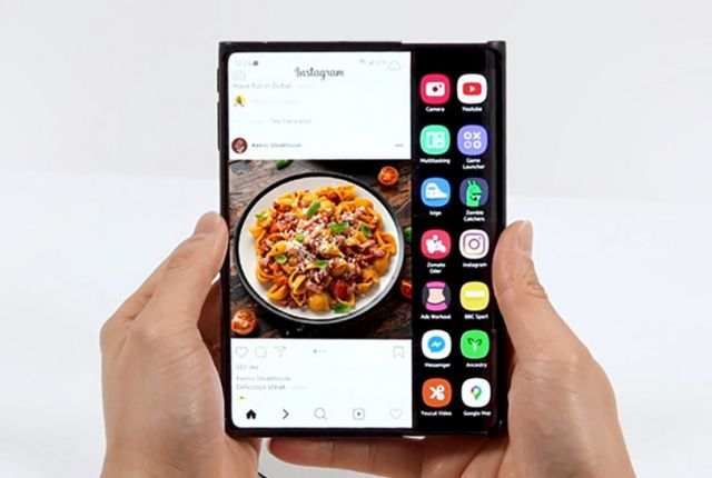 Samsung Display unveils its Foldable, Rollable Displays (2)