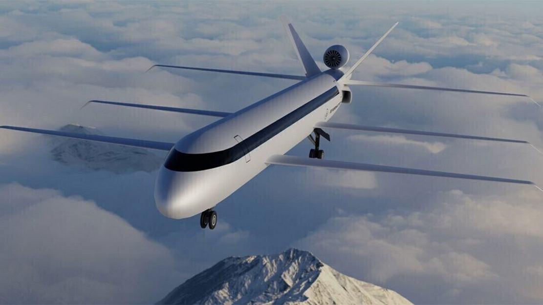 Super-efficient Tri-Wing widebody aircraft concept (4)