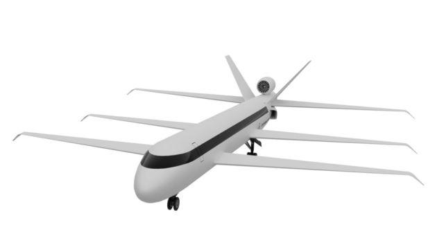 Super-efficient Tri-Wing widebody aircraft concept (1)