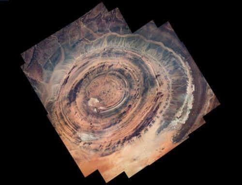 The 'Eye of Sahara' by ESA