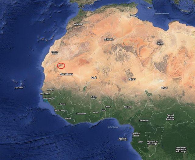 'Eye of Sahara'