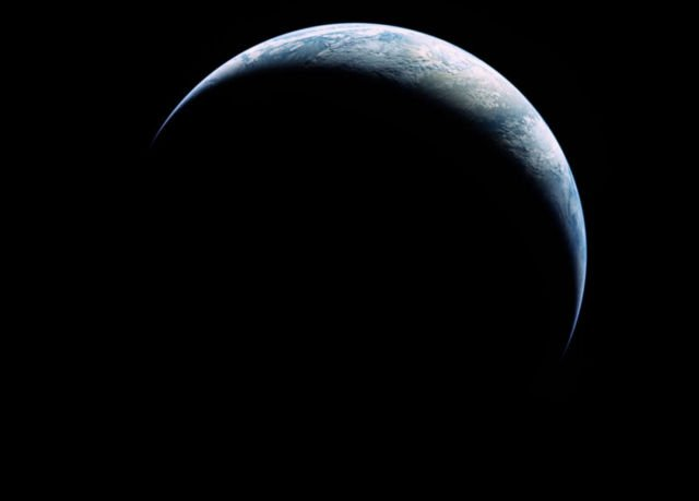 The Crescent Earth