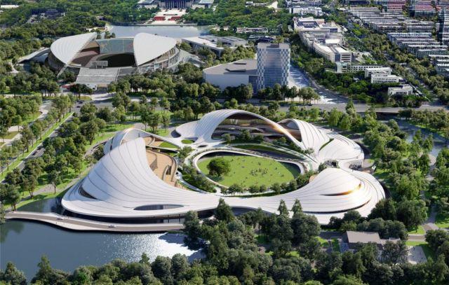 The Jiaxing Civic Center (1)