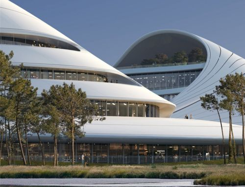 The Jiaxing Civic Center