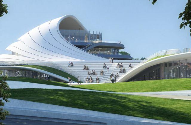The Jiaxing Civic Center (8)