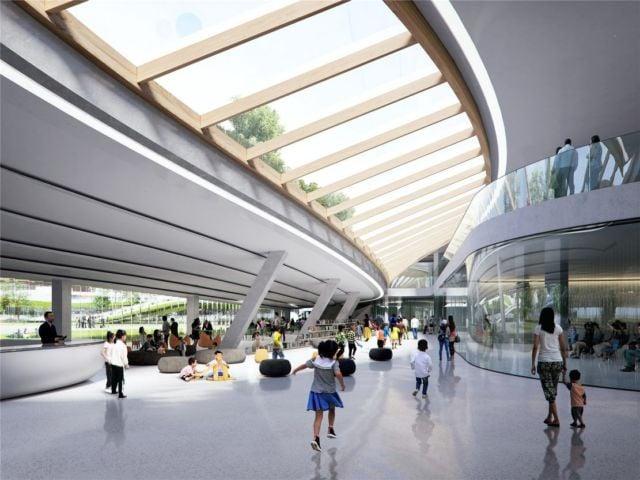 The Jiaxing Civic Center (3)