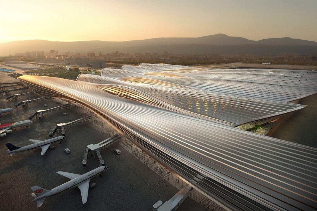 The Massive new Terminal at Bao'an International Airport