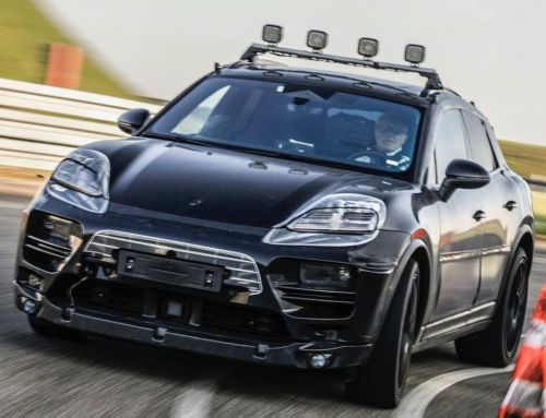 The all-electric Porsche Macan