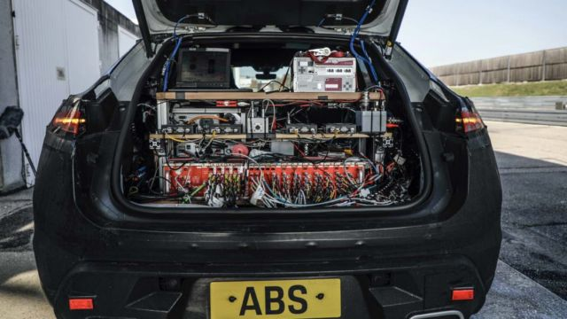 The all-electric Porsche Macan